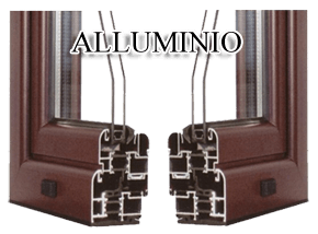 Infissi in alluminio dgf serramenti for Finestre in alluminio taglio termico prezzi