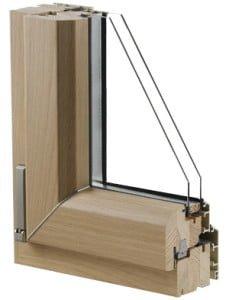 Infisso legno alluminio - DGF Serramenti