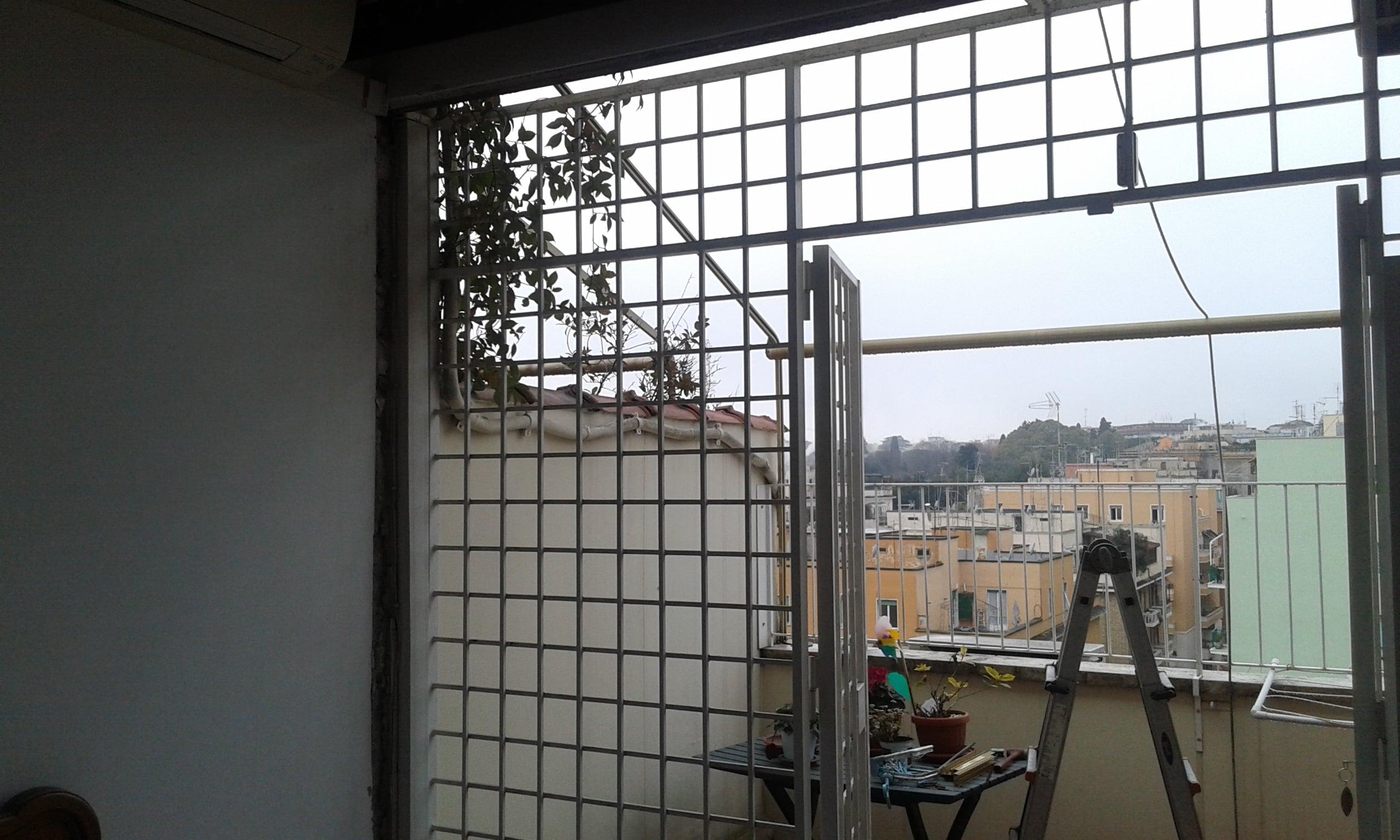 Alluminio Legno Laccato Bianco Con Tenda Veneziana Dgf Serramenti